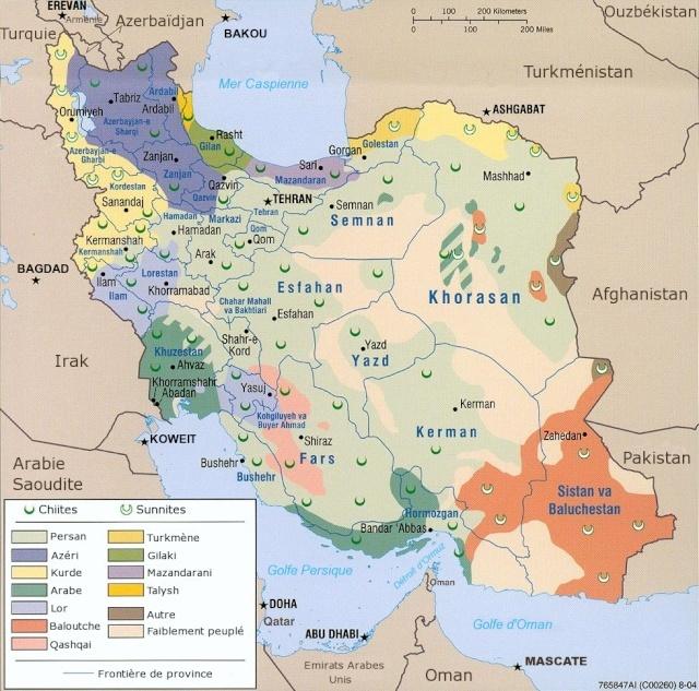 dossier - Dossier sur l'Iran, géostratégie, manipulation, nucléaire, future guerre, cartes Distri10