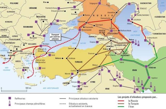dossier - Dossier sur l'Iran, géostratégie, manipulation, nucléaire, future guerre, cartes Route_12