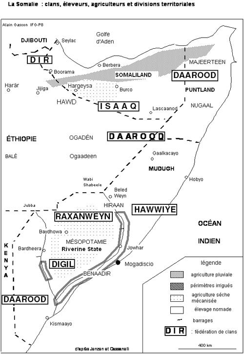 Dossier Golfe d'Aden/Somalie/Pirates vs Otan/Géostratégie de la région Somali10