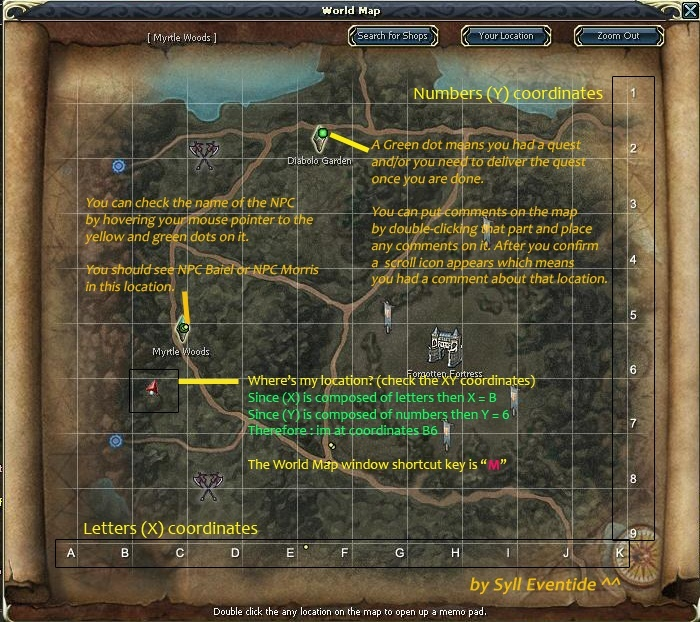 Rohan Map Basics Map_ba10
