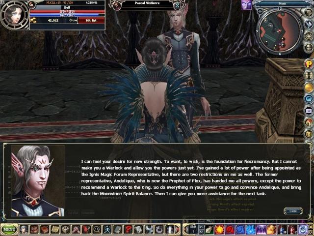 Dark Elf Mage to Warlock Rohan013
