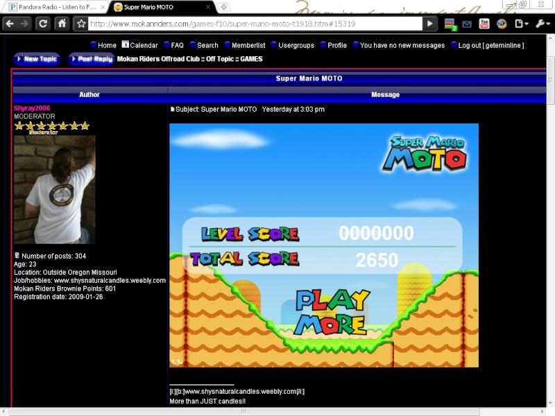 Super Mario MOTO Mario110