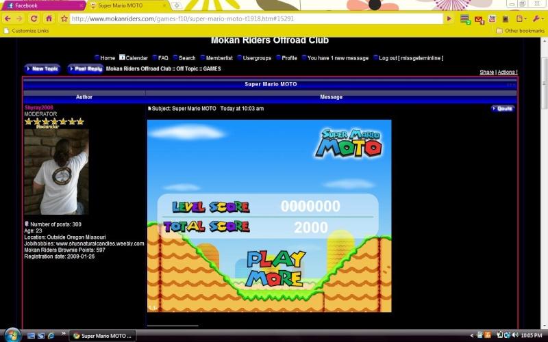 Super Mario MOTO Mario210