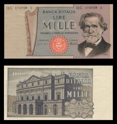 quale la banconota italiana che ricordate con affetto particolare? 0117