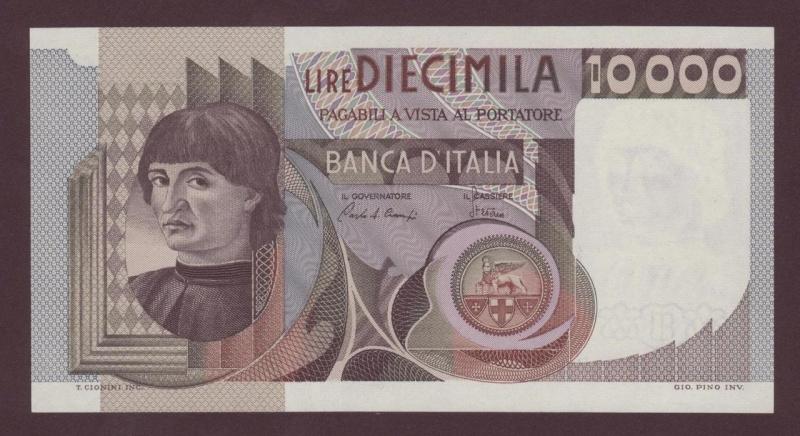 quale la banconota italiana che ricordate con affetto particolare? 0914