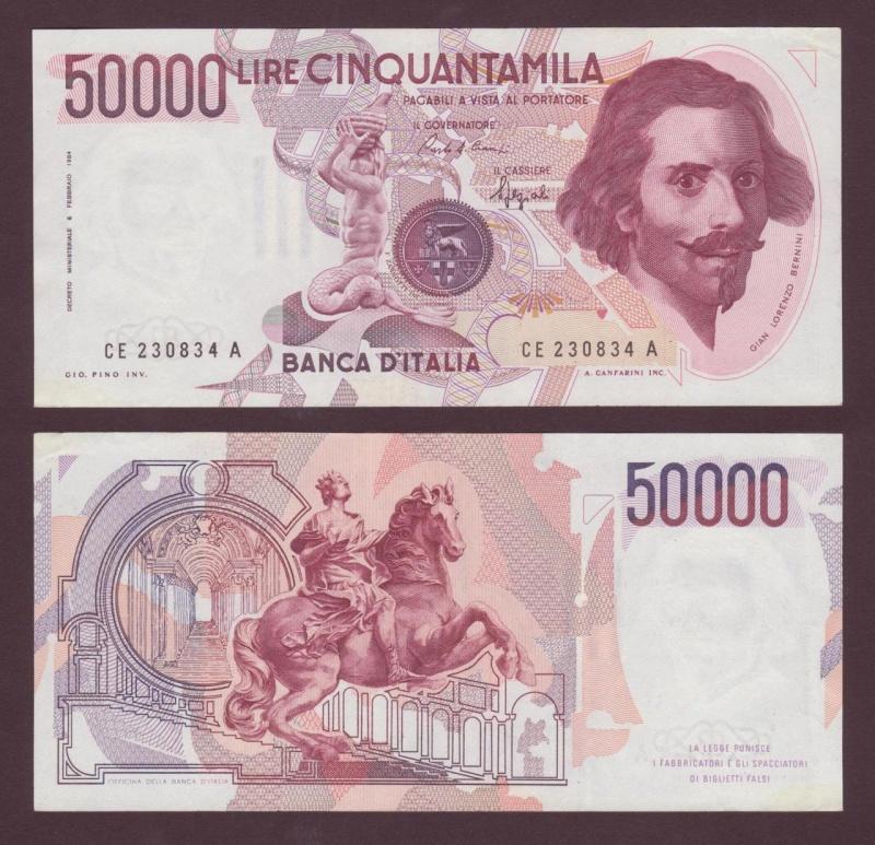 quale la banconota italiana che ricordate con affetto particolare? 1314