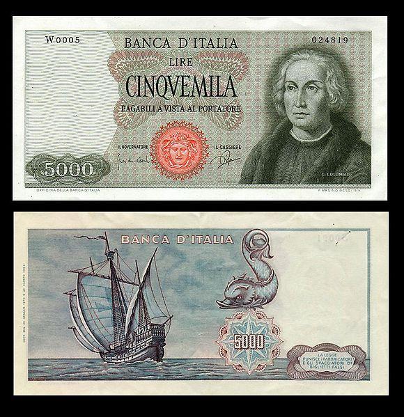 quale la banconota italiana che ricordate con affetto particolare? 1814