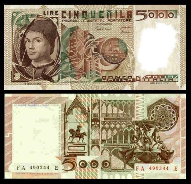 quale la banconota italiana che ricordate con affetto particolare? 1914