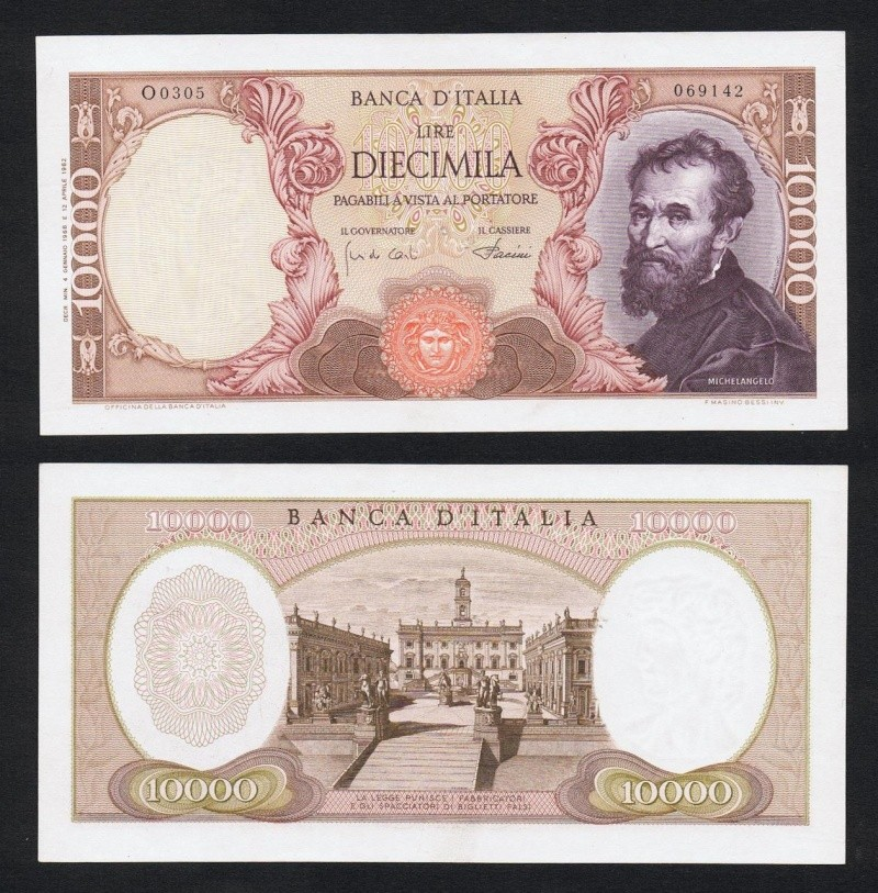 quale la banconota italiana che ricordate con affetto particolare? 2111