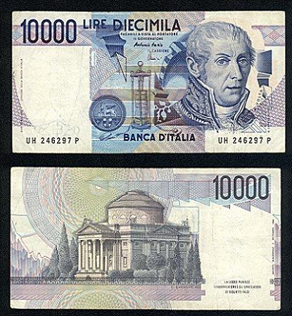 quale la banconota italiana che ricordate con affetto particolare? 2411