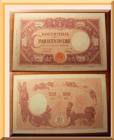 quale la banconota italiana che ricordate con affetto particolare? 2513