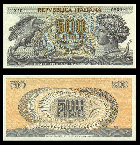 quale la banconota italiana che ricordate con affetto particolare? 3011