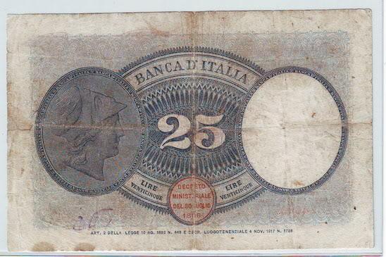 quale la banconota italiana che ricordate con affetto particolare? 3212