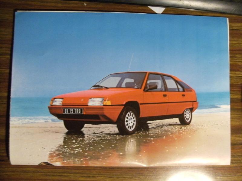 Brochure Les BX Diesel modèles 84 Dscf3311