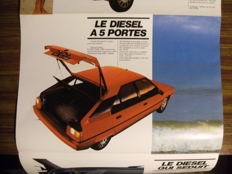 Brochure Les BX Diesel modèles 84 Dscf3313