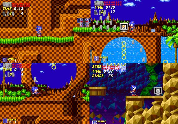 Sonic 2: Nick Arcade Prototype 110