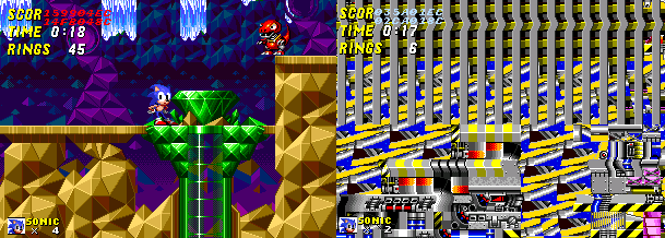 Sonic 2: Nick Arcade Prototype 210