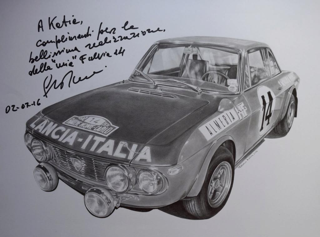 Galleria d'arte Lancia Fulvia 410
