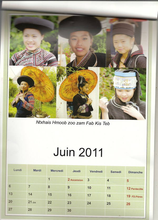 TSEV HMOOB NTSEEG PARIS Numari15
