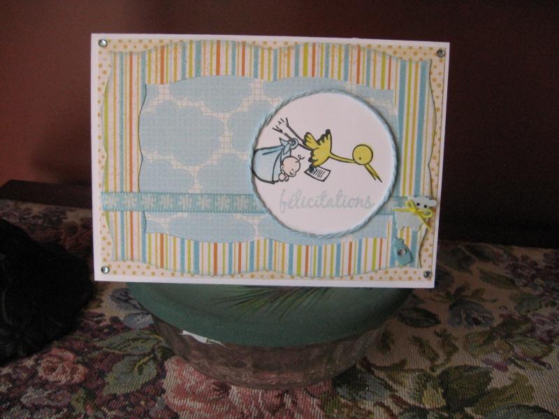 14 juin - Carte départ d'une collègue pour son congé de maternité 2010-035