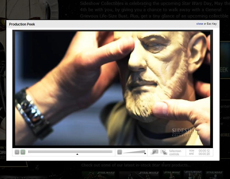 Ben Obiwan Kenobi- Legendary scaled bust Lsb10