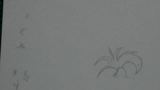 Mes dessins .... inachevés / Autres - Nuage 05_09_16