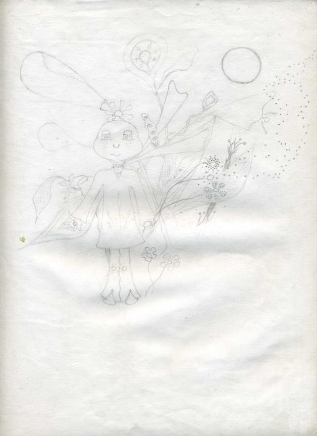 Mes dessins .... inachevés / Autres - Nuage Img06911