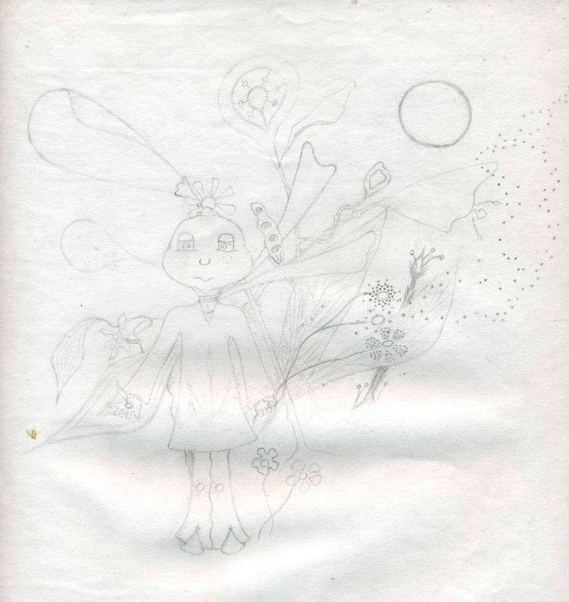 Mes dessins .... inachevés / Autres - Nuage Img07010