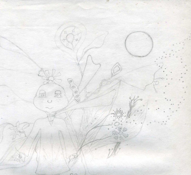 Mes dessins .... inachevés / Autres - Nuage Img07110