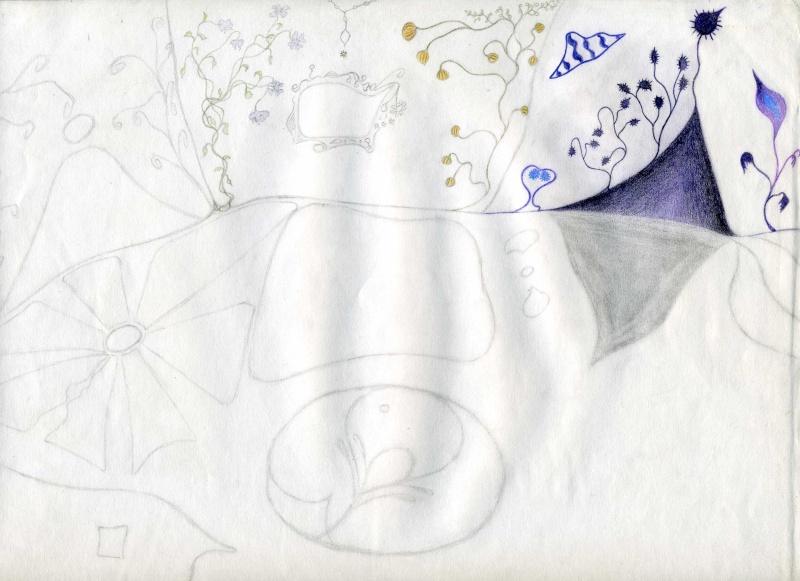 Mes dessins .... inachevés / Autres - Nuage Img07510