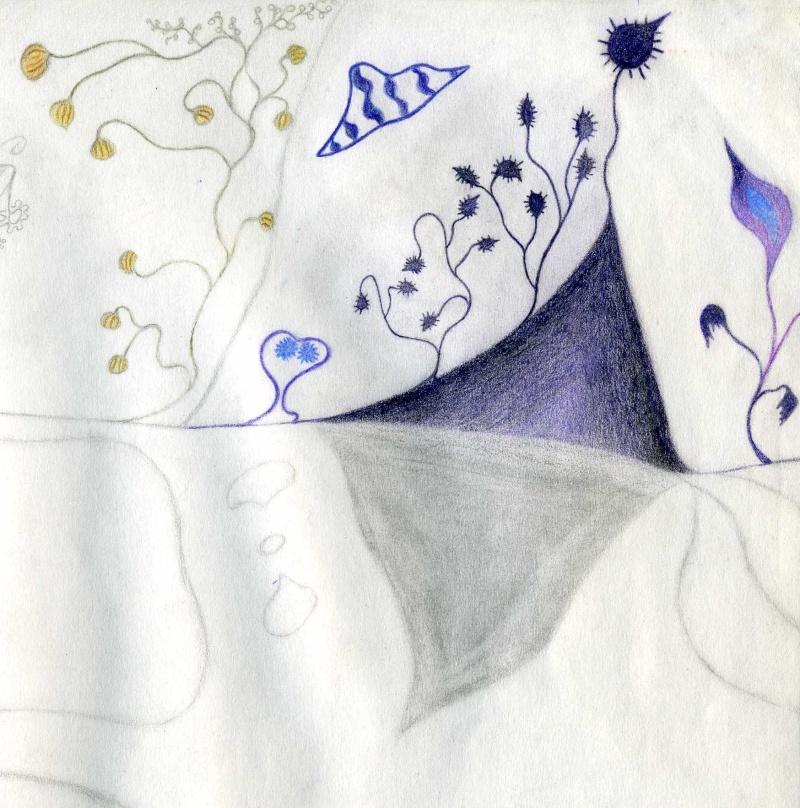 Mes dessins .... inachevés / Autres - Nuage Img07610