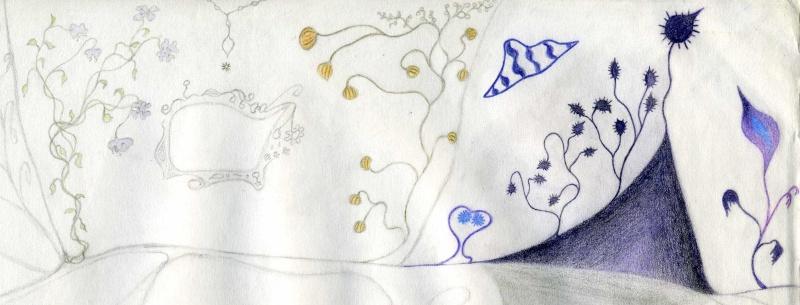 Mes dessins .... inachevés / Autres - Nuage Img07910