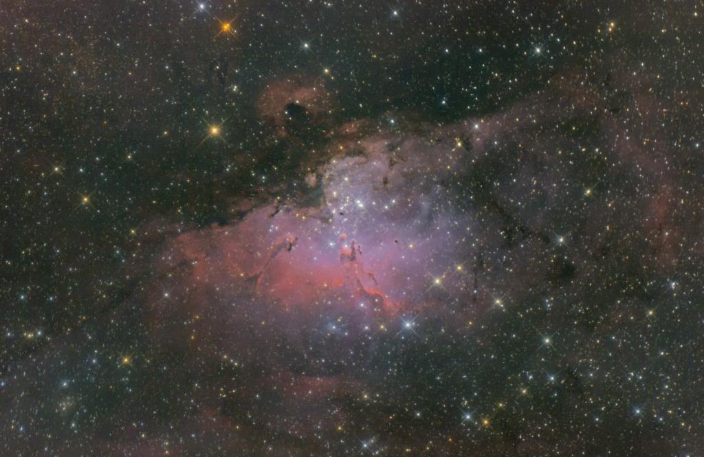 Réduction d'étoiles M1620210