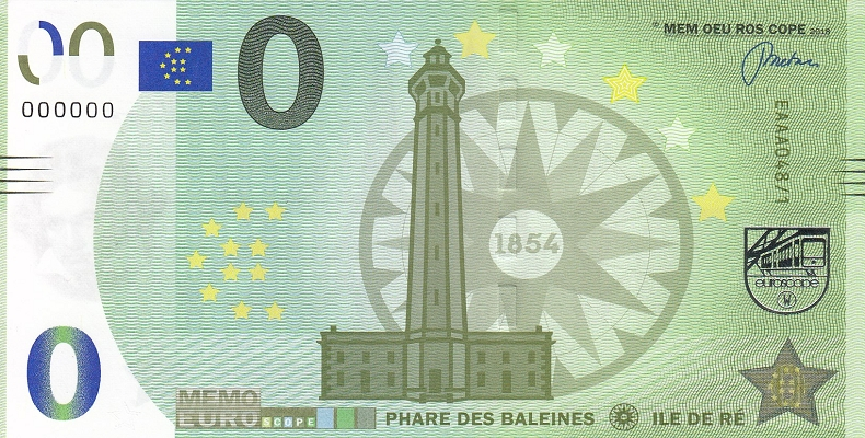 Billet Memo Euro scope Memo4810