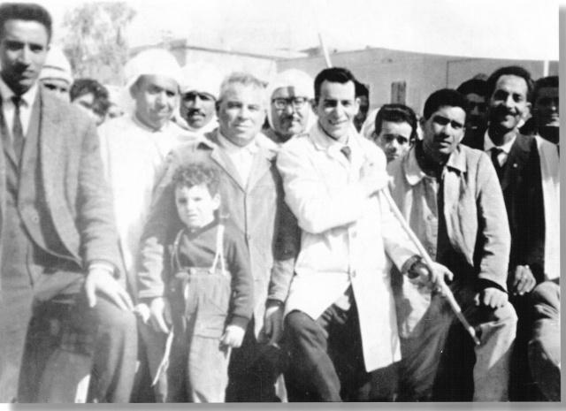 Photo le jour de l'indépendance à Bousaâda Benhou10