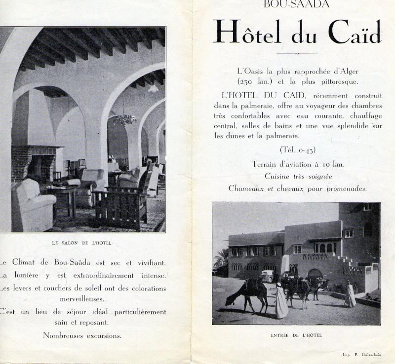 Le tourisme à Bousaâda (époque coloniale) Hotel_11