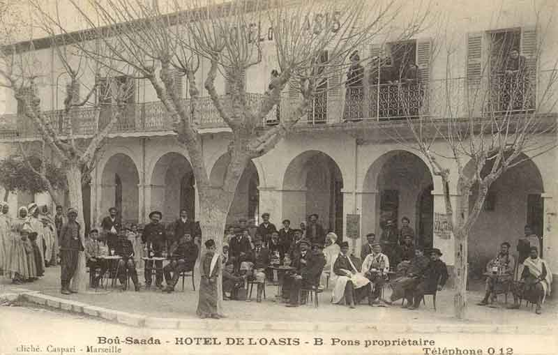 Le tourisme à Bousaâda (époque coloniale) Hotel_12