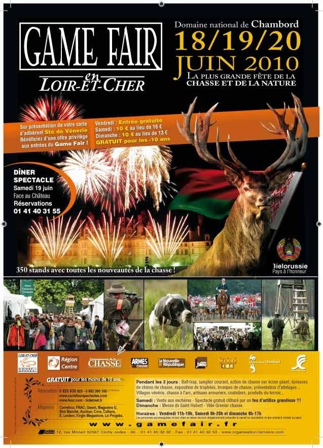 Game Fair 2010 à Chambord 18,19 et 20 juin 2010 Visuel10