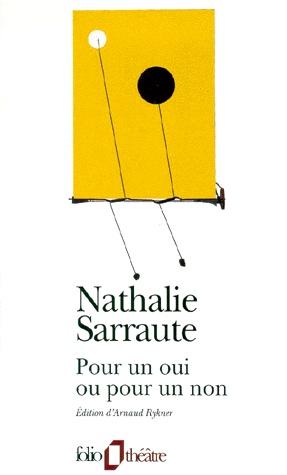 [Sarraute, Nathalie] Pour un oui ou pour un non Untitl11