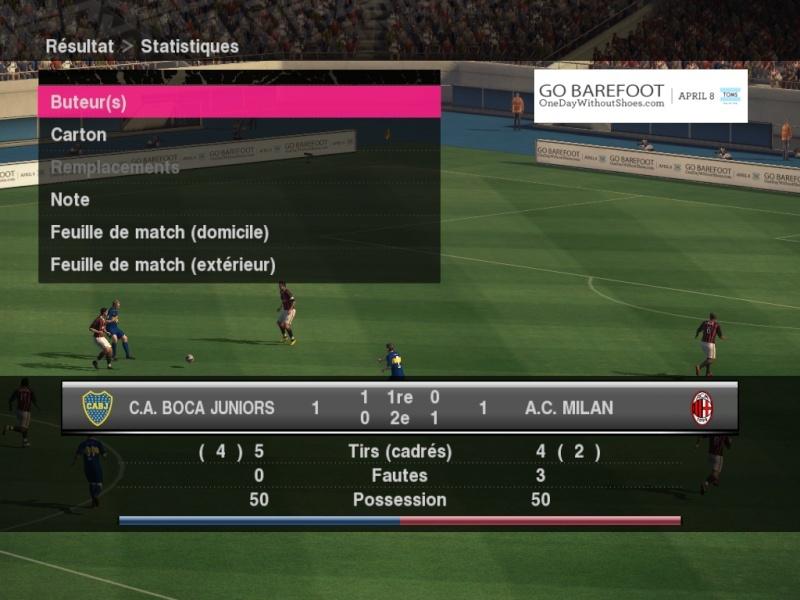J18/ Boca 1 - 1 Milan Boca-m10