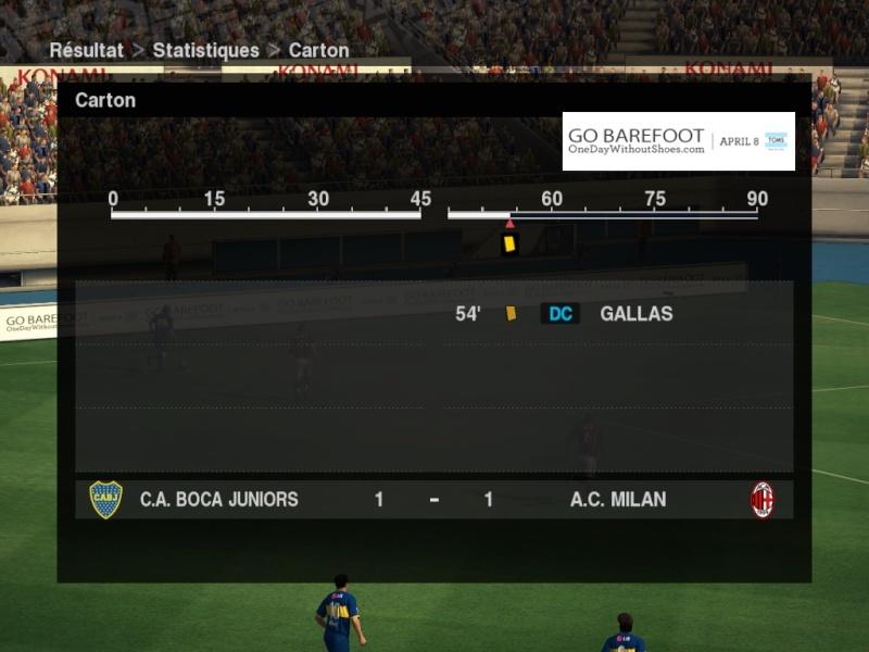 J18/ Boca 1 - 1 Milan Boca-m12
