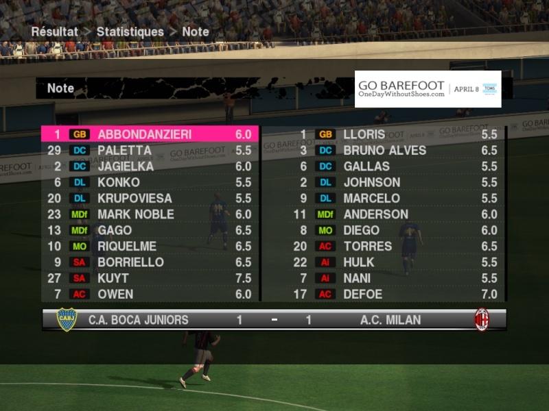 J18/ Boca 1 - 1 Milan Boca-m13