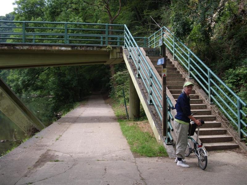 RAVeL 5 Ourthe Liege - Durbuy - Itinéraire N°7 - Sur la route des Ardennes Palogn11
