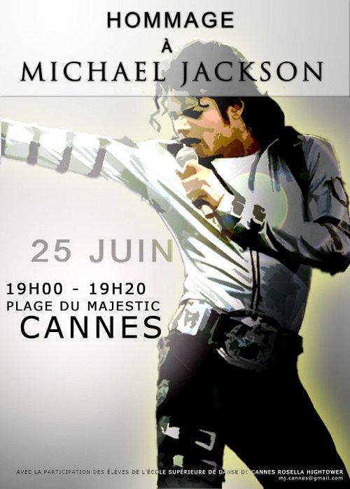Hommage à Michael Jackson le 25 Juin à Cannes... Cannes10