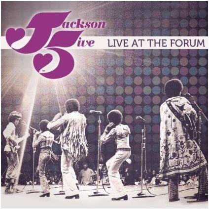 La pochette du double CD The Jackson 5 Live At The Forum... Live10