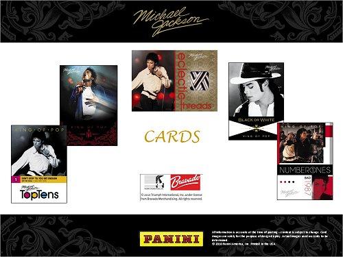 Panini : Nouvelle cartes Michael Jackson à collectionner... Michae11