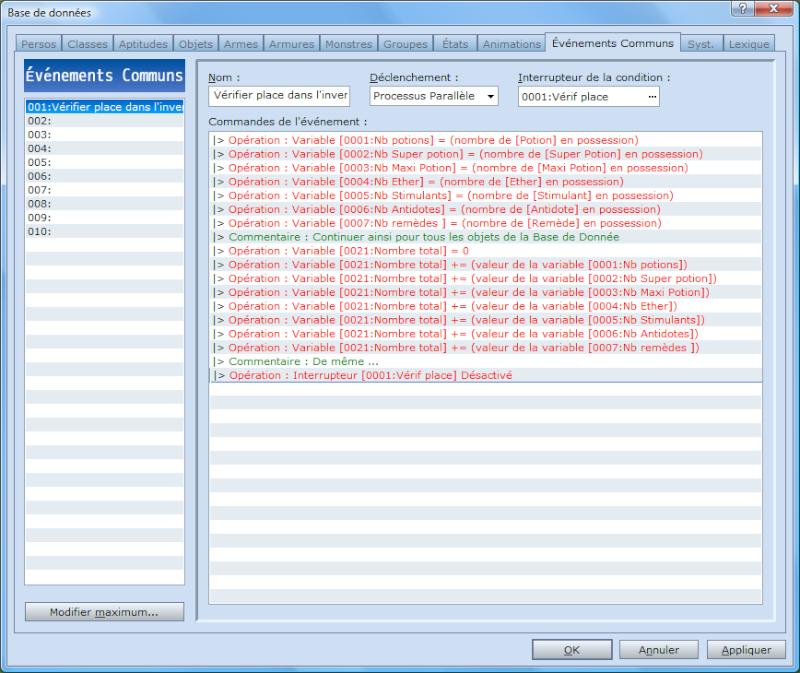[Event] Créer une variable donnant le nombre d'objets dans l'inventaire Commun10