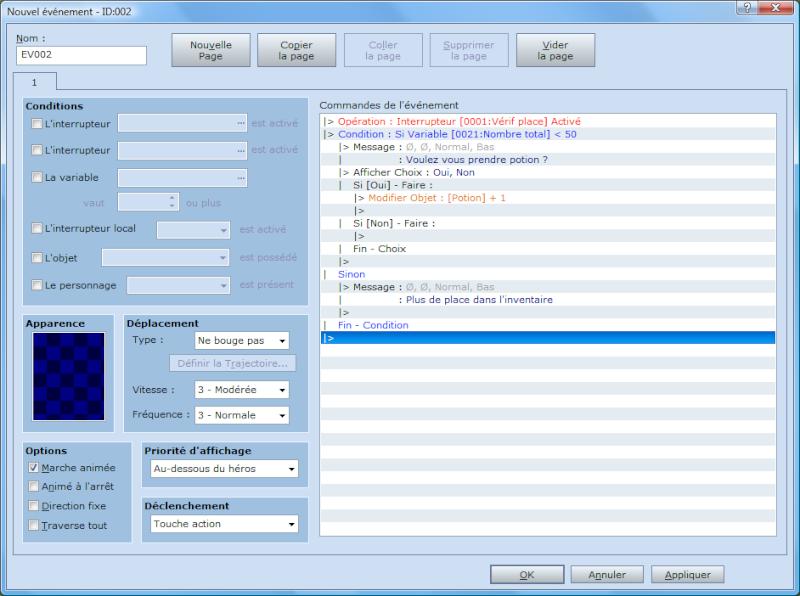 [Event] Créer une variable donnant le nombre d'objets dans l'inventaire Prise10