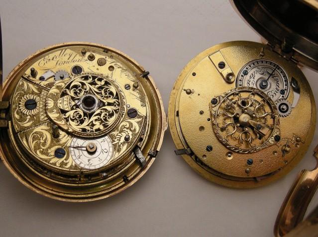 Deux belles montres à verge en or pour le plaisir des yeux Dscn1111