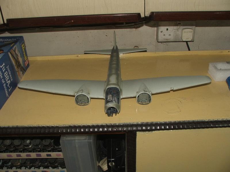 In progress.....1/32nd Junkers Ju88 A1 H10